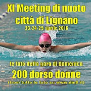 XI Meeting Lignano 2016 - 200 dorso donne