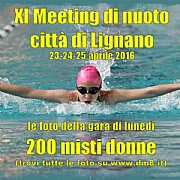 XI Meeting Lignano 2016 - 200 misti donne